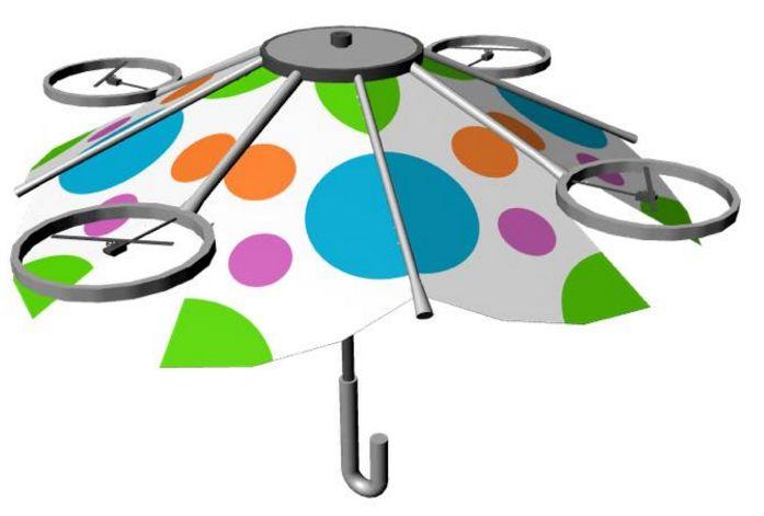 手で持たなくてよい傘「free Parasol(フリーパラソル)」が気になる!