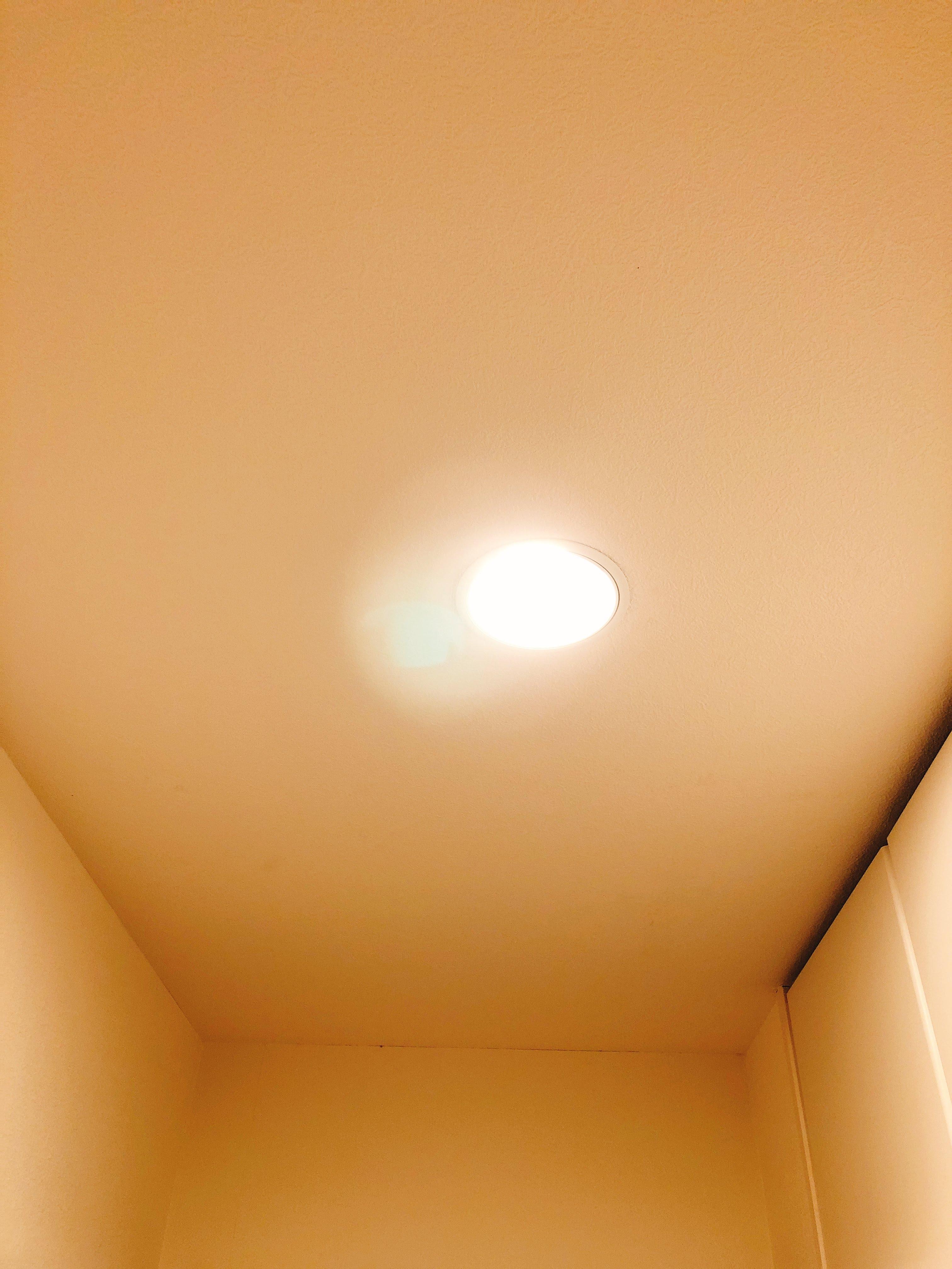 温白色の光の強さ3