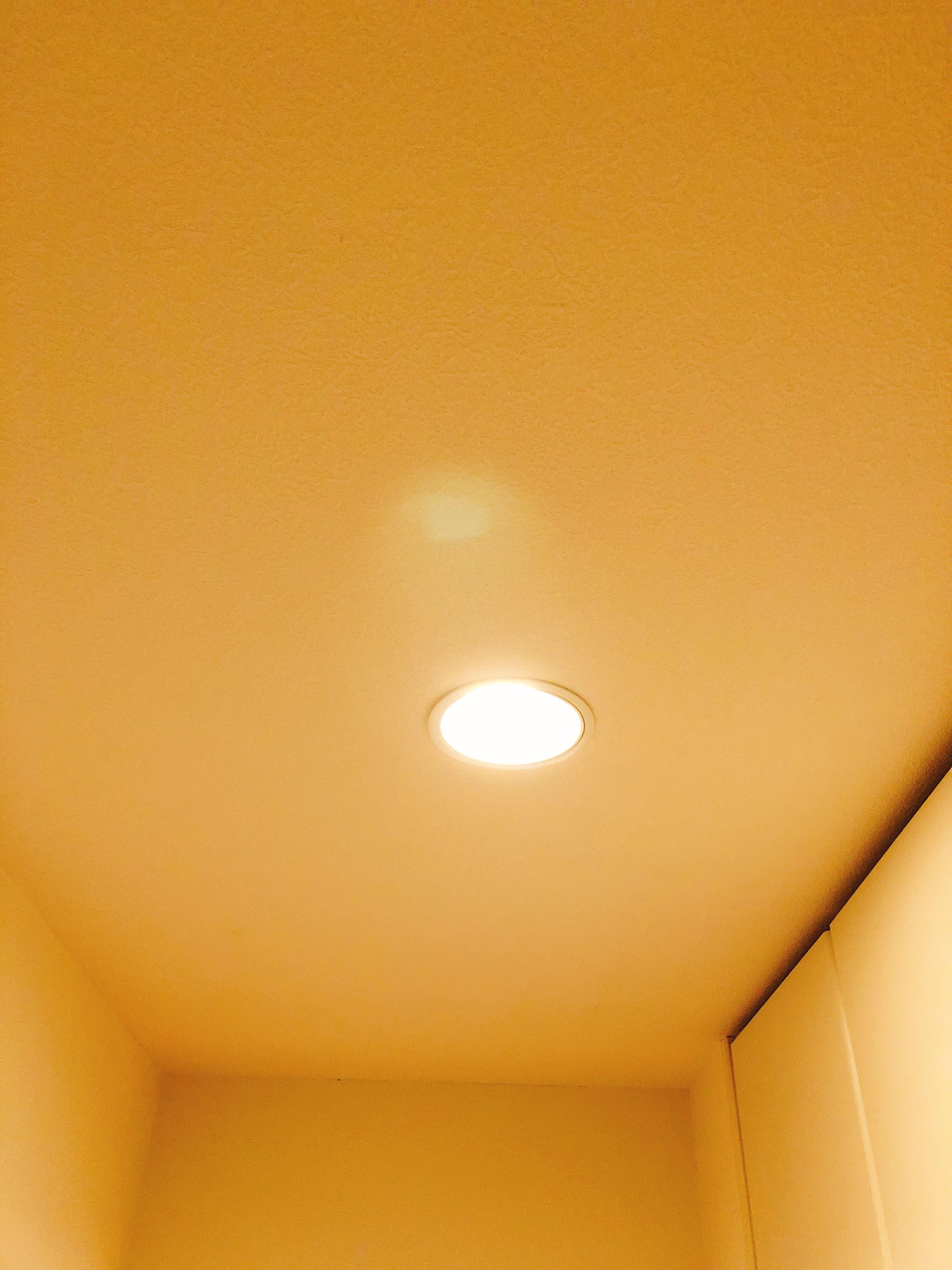 温白色の光の強さ