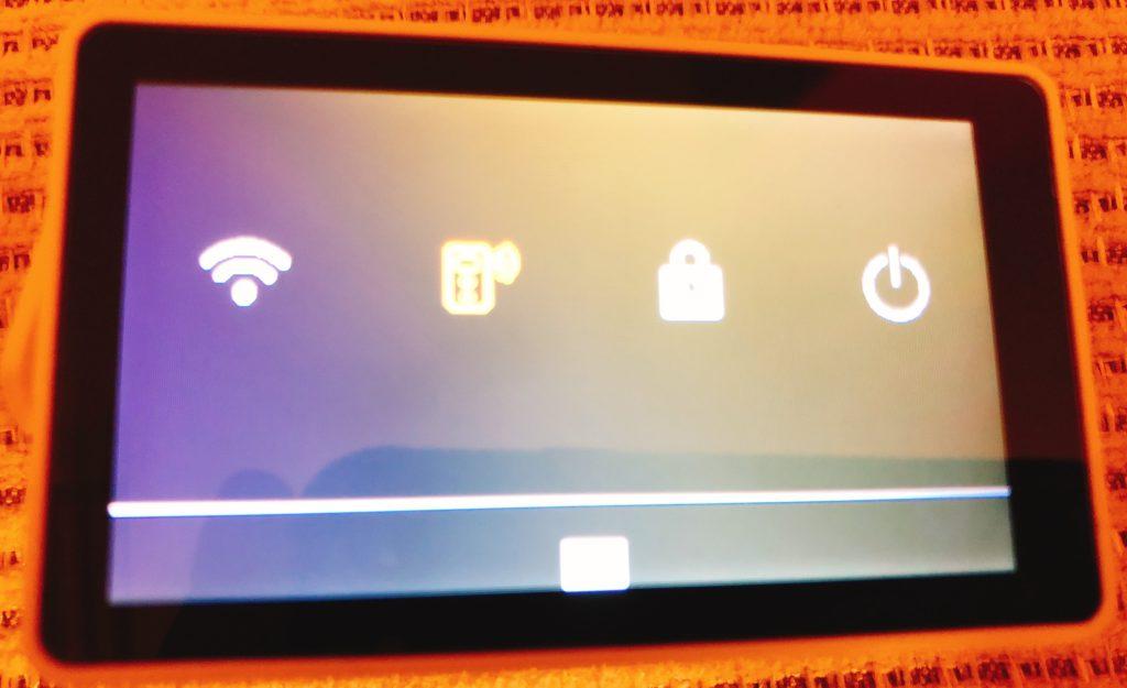 WiFi有効化画面