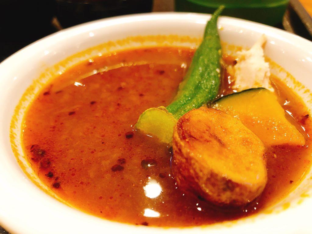 ドーミーイン札幌のスープカレー