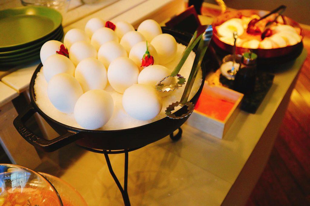 北海道を楽しむと言うよりは、星野リゾートを楽しめる朝食です。