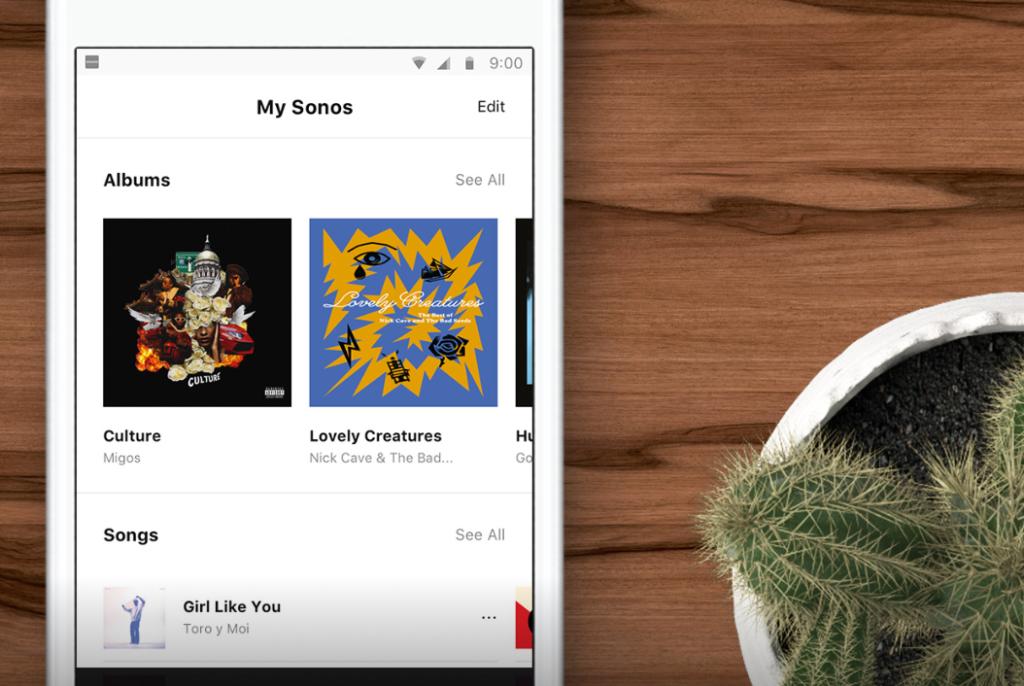 Sonosアプリ設定ロゴ