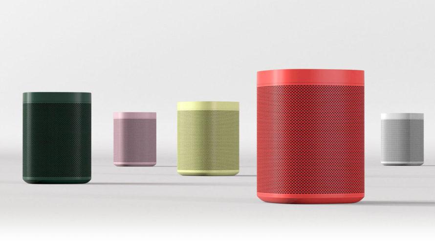 Sonos 公式では、赤、黄、緑、グレー、ピンクなども取り扱っています。